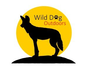 wild dog logo paw print 3-SMALL